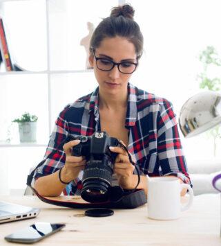 Using a Digital SLR Camera